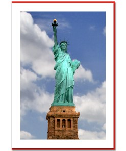 Statue of Liberty Handmade Photo Card HPC2174