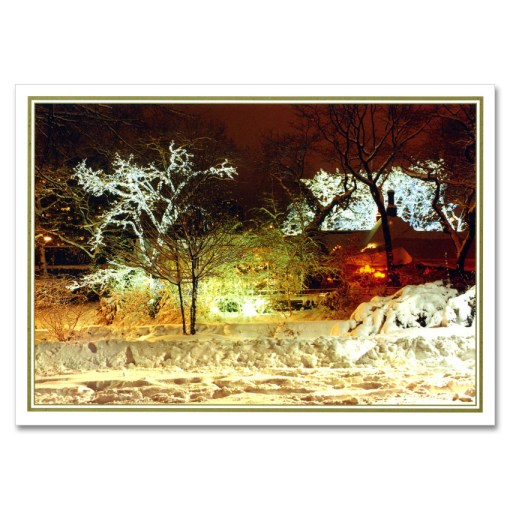 Tavern on Green in Central Park NY Christmas Cards BGC119