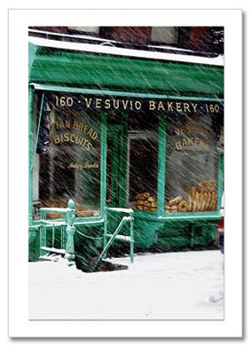 Vesuvio Bakery NY Christmas Card HPC-2414