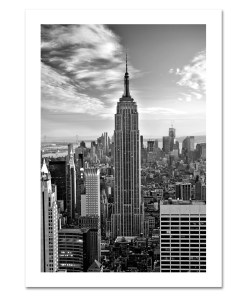 Empire State Building Black and White NYC Christmas Cards HPC-2019