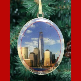 1WTC Freedom Tower Christmas Ornament CO48108 from NY Christmas Gifts