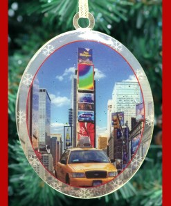 Times Square Taxi Christmas Ornament CO48289 from NY Christmas Gifts