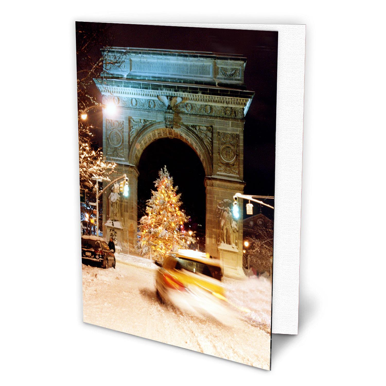 Washington Arch Christmas Tree New York - NYC Christmas ...