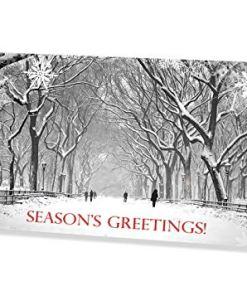 Poet Walk in Central Park New York Money Card Holder