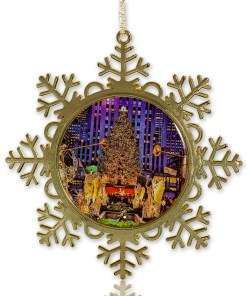 Rockefeller Center ornament on Christmas Tree from NY Christmas Gifts store