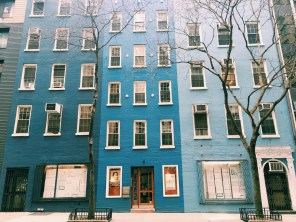 The Blue Building in Midtown