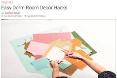 http://collegecandy.com/2016/09/28/easy-dorm-room-decor-hacks-diy/
