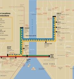 map of new york city port authority trans hudson rail network [ 1940 x 1474 Pixel ]