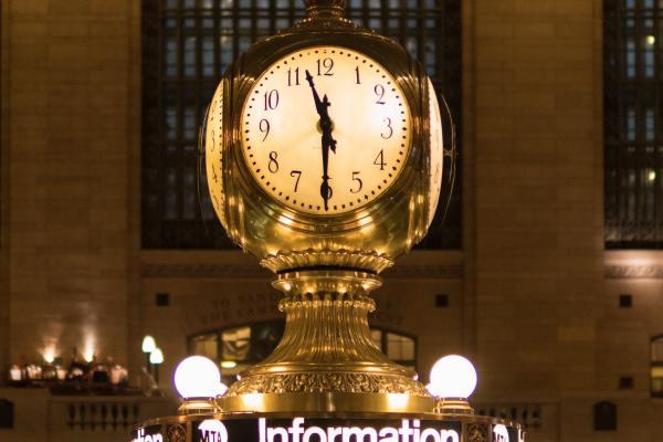 Central Station clock