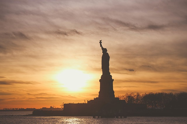Statue Of Liberty Landmark.