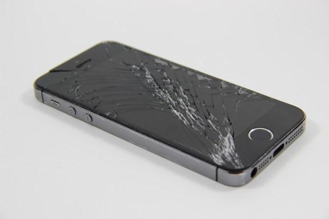 A broken phone