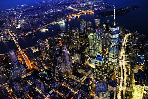 A birdview of New York because it is always a good choice to buy an apartment in NYC