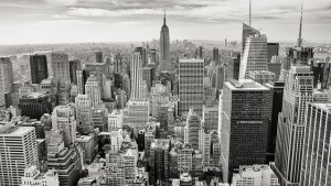 New York skyline that makes moving from a small city to New York so appealing.