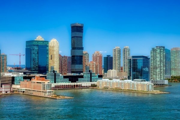 A view of Jersey City.