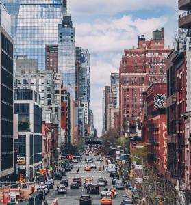 New York boulevard