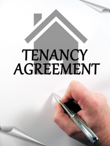Tenancy agreement sign