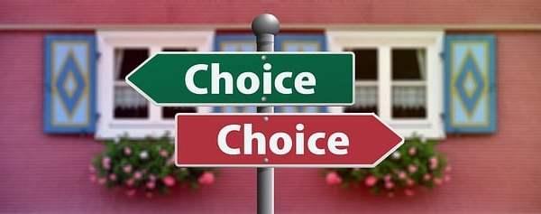 Choice signs