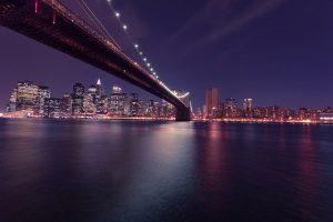 NYC at night.