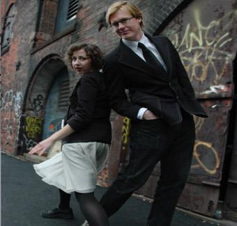 Magical sketch duo Kristen Schaal & Kurt Braunohler