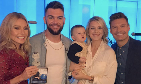 Dylan Scott on Live with Kelly and Ryan