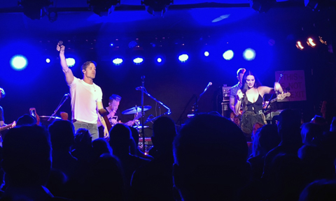 Walker Hayes and Hannah Ellis, Mercury Lounge, NYC