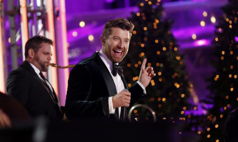 Brett Eldredge Rockefeller Center Christmas Tree Lighting