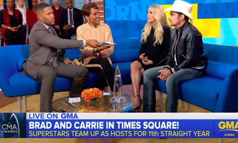 Carrie Underwood Brad Paisley