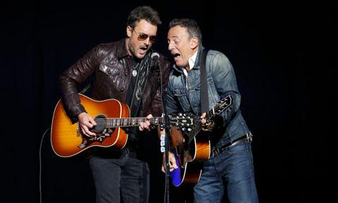 Eric Church Bruce Springsteen