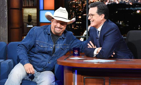 Garth Brooks on Late Night with Stephen Colbert