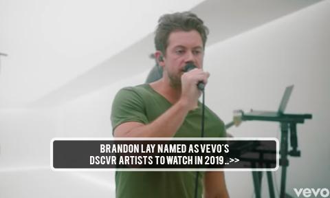 Brandon Lay Named Vevo's 2019 DSCVR Artist to Watch