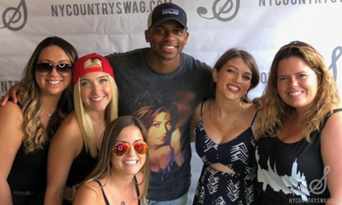The NYCountry Swag team will head to the mountain to set up shop once  again, offering festival goers the best in country music inspired gear.