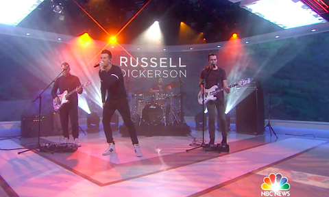 Russell Dickerson Today Show