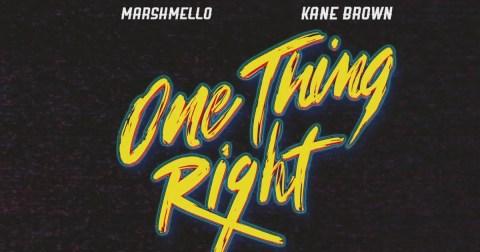 Kane Brown Marshmello