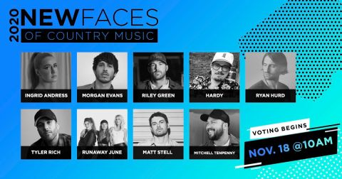 CRS New Faces 2020