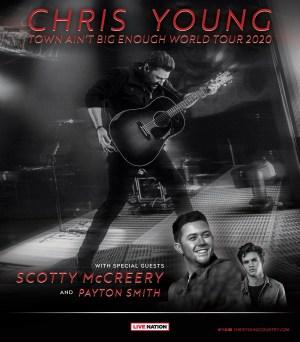 Chris Young Town Ain't Big Enough World Tour
