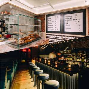 We Are Buzzing About NYC's Newest Coffee-Shop-By-Day-Speakeasy-by