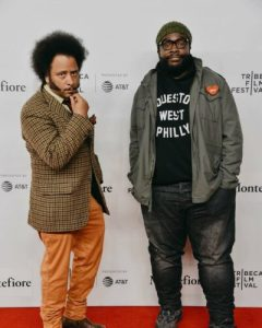 In Conversation with @Questlove and @BootsRiley at the @Tribeca Film Festival