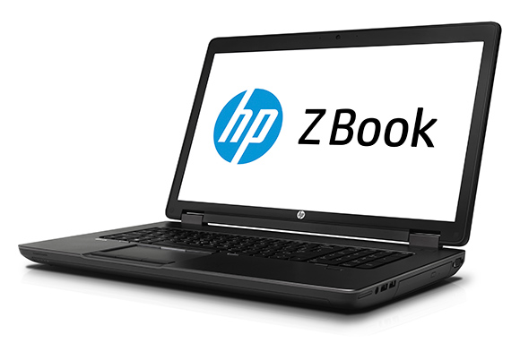The ZBook 17 Mobile Workstation: HP's largest ZBook with capacity for 4 internal drives.