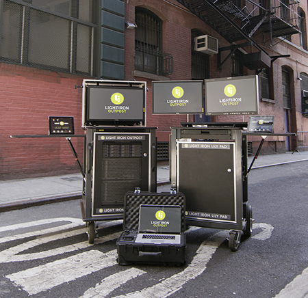 Light Iron describes its OUTPOST systems as mobile processing laboratories.