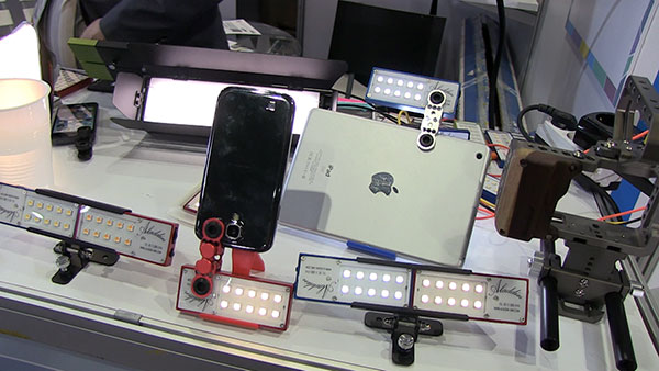 LED lights from established and new manufacturers were everywhere at the show. This Korean booth display points up that the majority of the new companies were Southeast Asian, with China offering up the most examples.