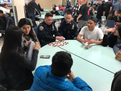 NYPD Playing Uno During TUT