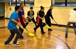 Floor Hockey During TUT