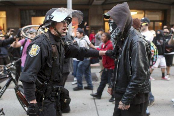 may day violence 2013