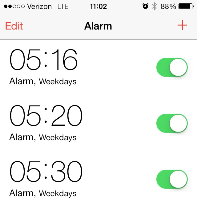 nyctalking alarms
