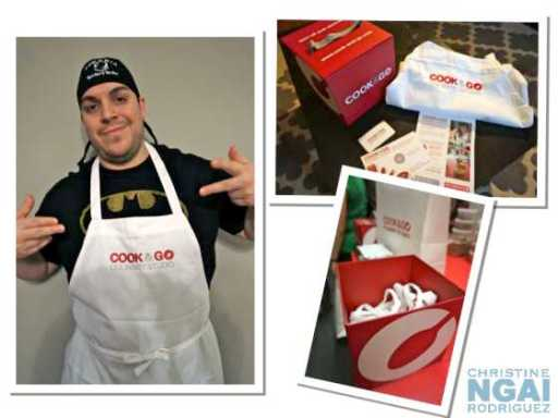 nyctalking cook and go Apron