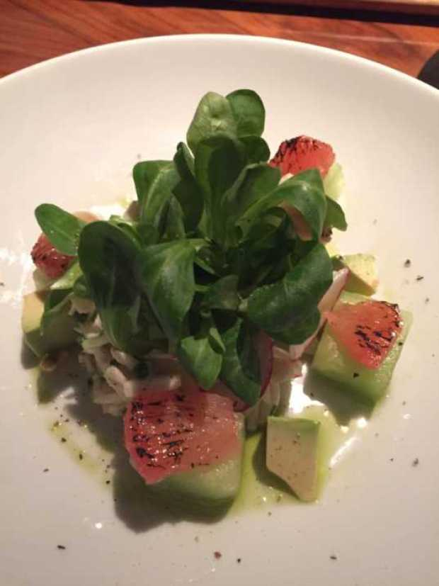 STK Lump crab salad