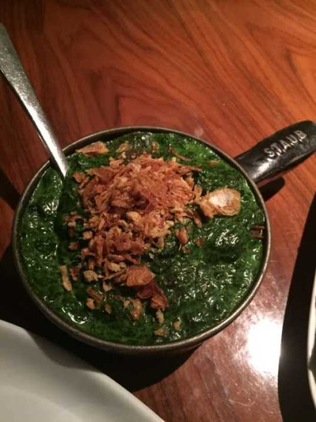 stk creamed spinach