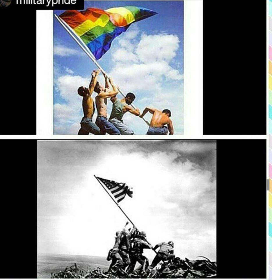 iwo jima gay flag