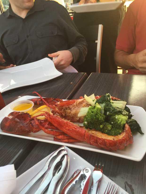 river dock cafe lobster