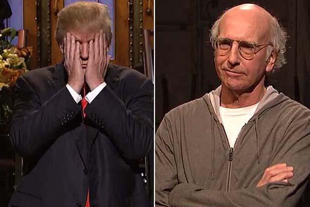 Larry-David-Heckling-Donald-Trump-on-SNL